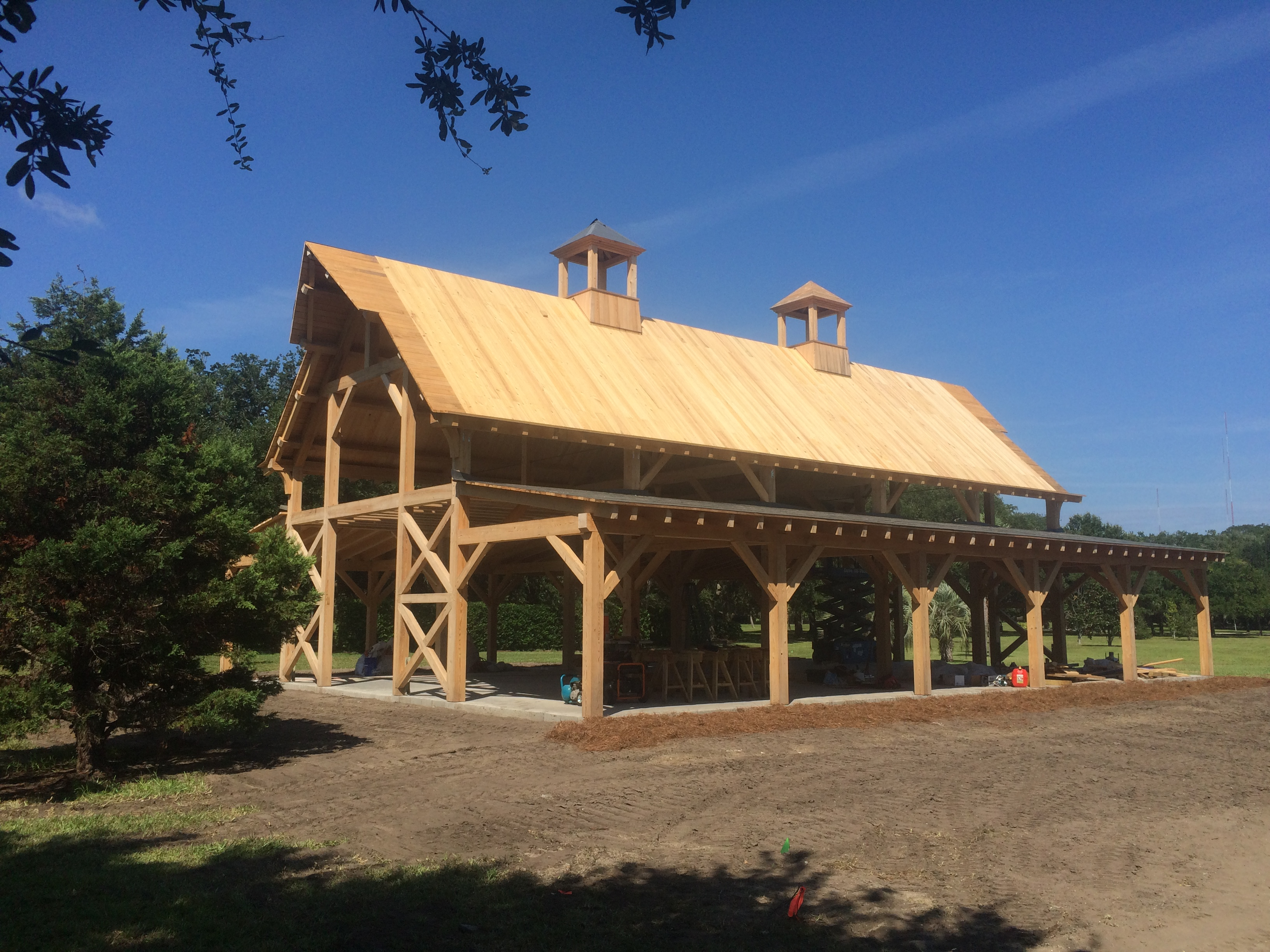 Timber Frame Design And Build Portfolio